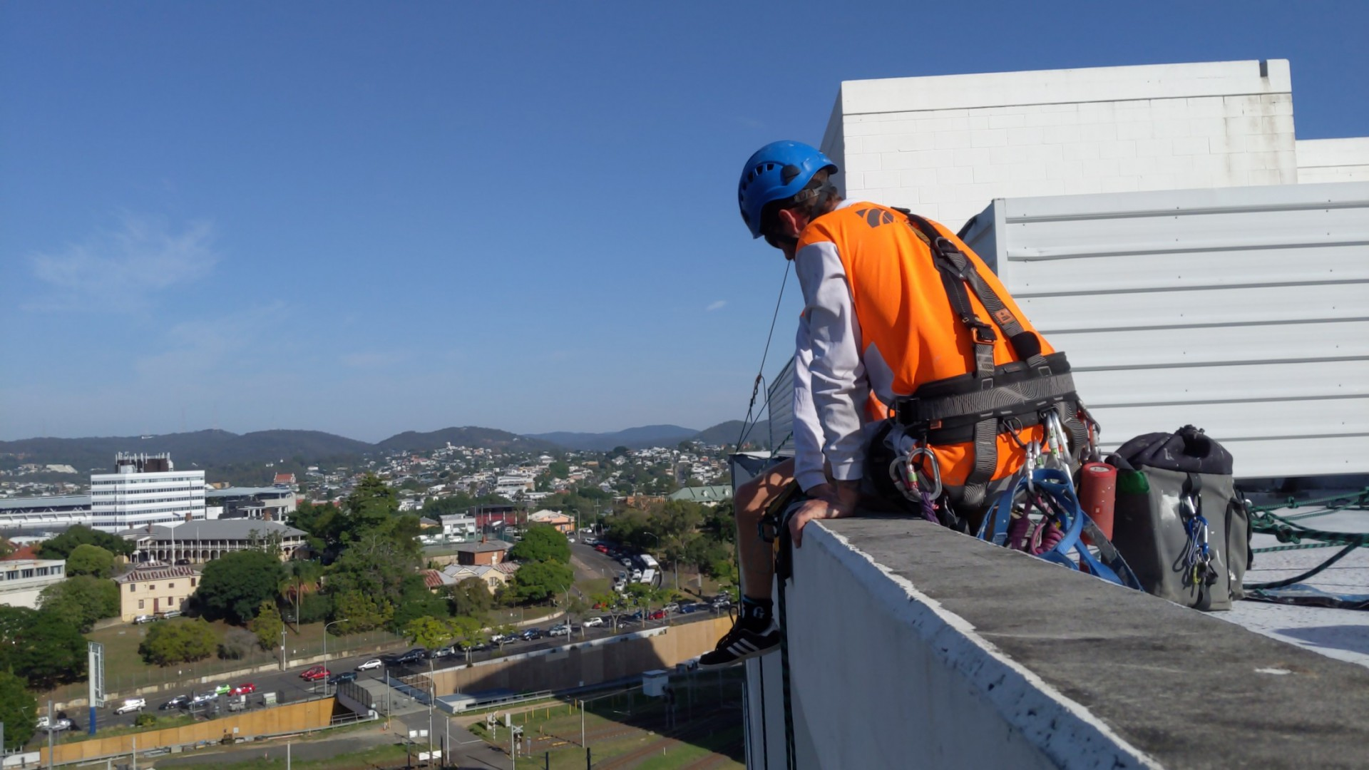 Height Safety Systems Installation Process - AURA Facility Maintenance,  Rope Access, Height Safety Systems